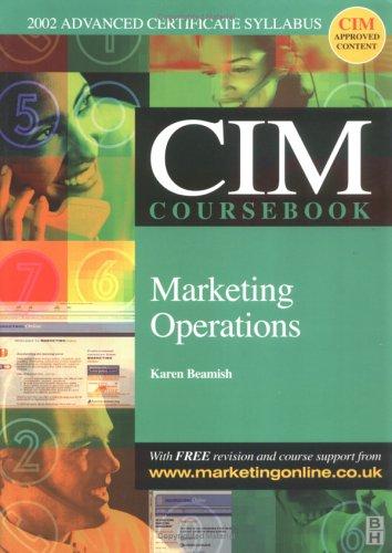 9780750657075: CIM Coursebook 02/03 Marketing Operations