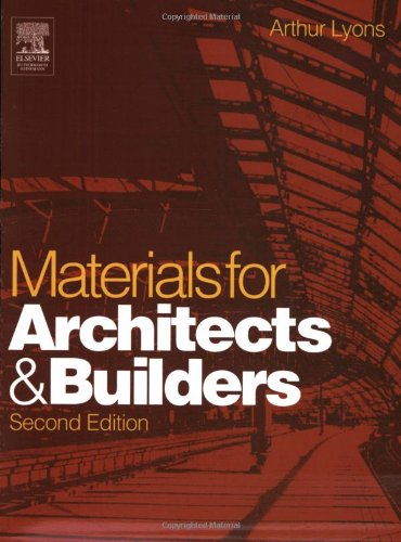 9780750657259: Materials for Architects and Builders: An Introduction