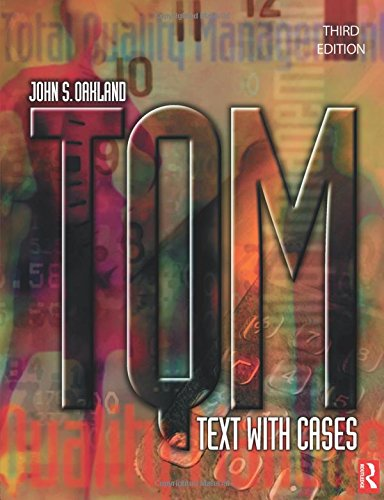 9780750657402: TQM: Text with Cases
