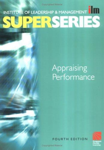 9780750658386: Appraising Performance Super Series, Fourth Edition (ILM Super Series)