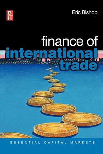 9780750659086: Finance of International Trade (Essential Capital Markets)