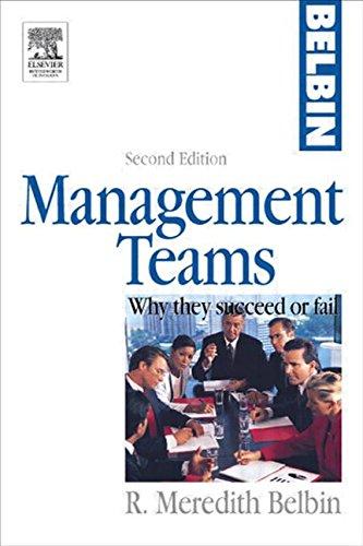 9780750659109: Management Teams, Second Edition