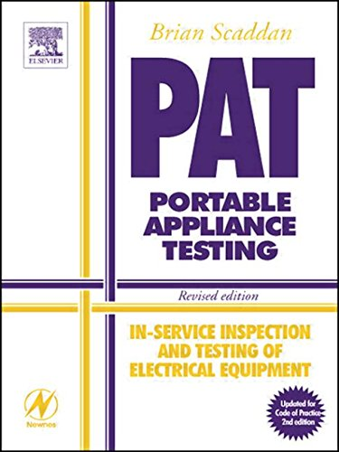9780750659161: PAT: Portable Appliance Testing: In-Service Inspection and Testing of Electrical Equipment - Revised edition