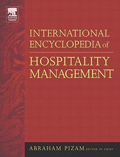 9780750659963: International Encyclopedia of Hospitality Management