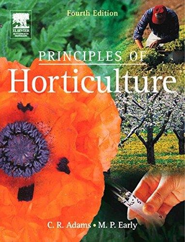 9780750660884: Principiles of Horticulture