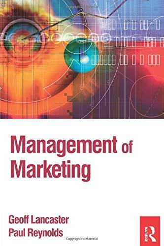 9780750661034: Management of Marketing