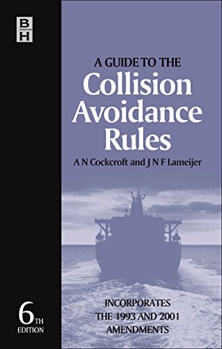 9780750661799: Guide to the Collision Avoidance Rules, Sixth Edition