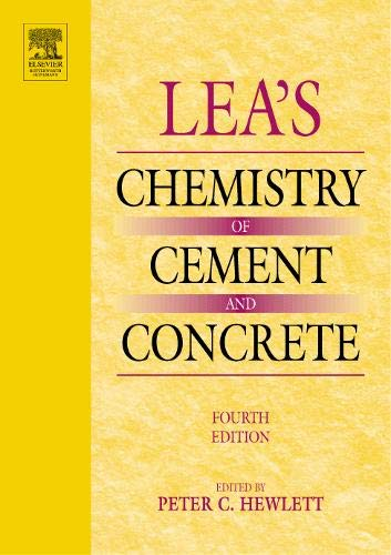 9780750662567: Lea's Chemistry of Cement and Concrete, Fourth Edition