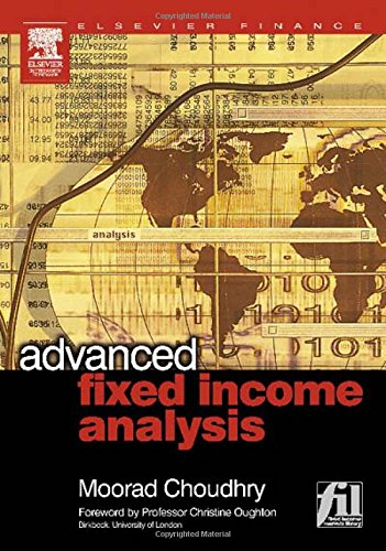 9780750662635: Advanced Fixed Income Analysis
