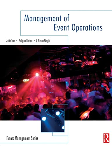 9780750663625: Management of Event Operations (Events Management)