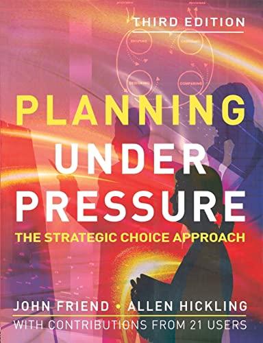 9780750663731: Planning Under Pressure