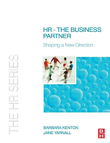 HR - The Business Partner (The HR: Kenton, Barbara and