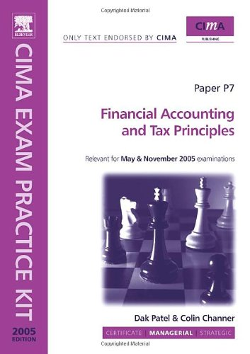 9780750665902: Financial Accounting And Tax Principles: Managerial Level