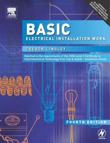 9780750666244: Basic Electrical Installation Work