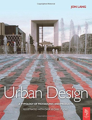 9780750666282: Urban Design: A typology of Procedures and Products. Illustrated with 50 Case Studies