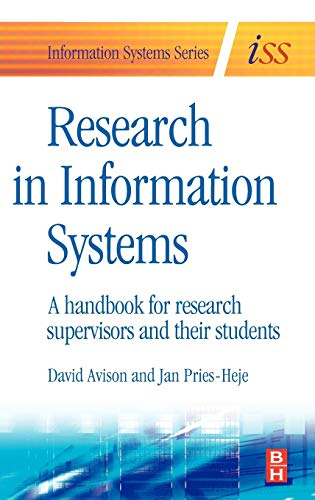 9780750666558: Research in Information Systems: A Handbook for Research Supervisors and their Students (Butterworth-Heinemann Information Systems)
