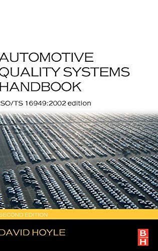 9780750666633: Automotive Quality Systems Handbook: ISO/Ts 16949:2002 Edition