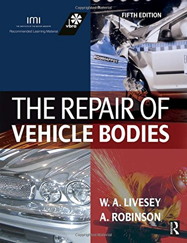 9780750667531: The Repair of Vehicle Bodies