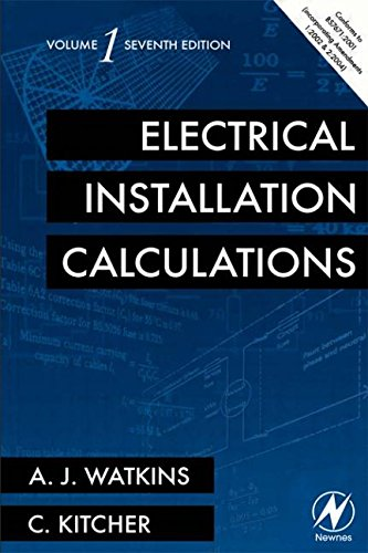 9780750667821: Electrical Installation Calculations Volume 1, Seventh Edition