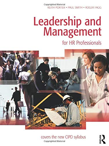 9780750667944: Leadership and Management for HR Professionals
