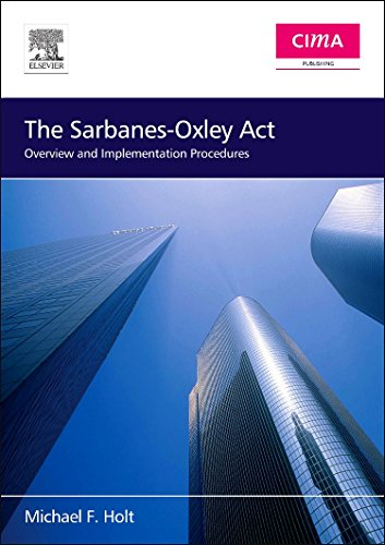 9780750668231: The Sarbanes-Oxley Act: Overview and Implementation Procedures (CIMA Professional Handbook)