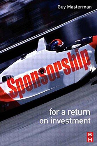 9780750668378: Sponsorship: For a Return on Investment