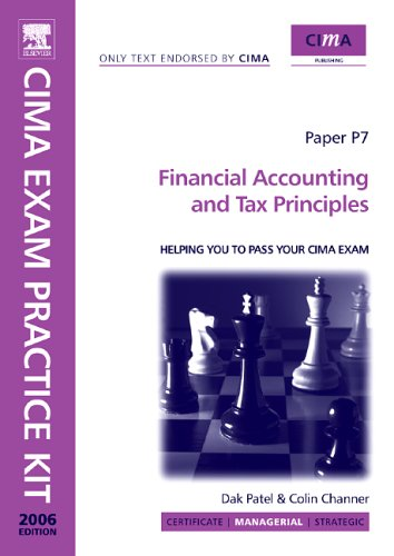9780750669337: Cima Exam Practice Kit Financial Accounting And Tax Principles