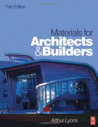 9780750669405: Materials for Architects and Builders