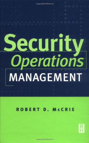 9780750670876: Security Operations Management