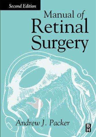 9780750671064: Manual of Retinal Surgery
