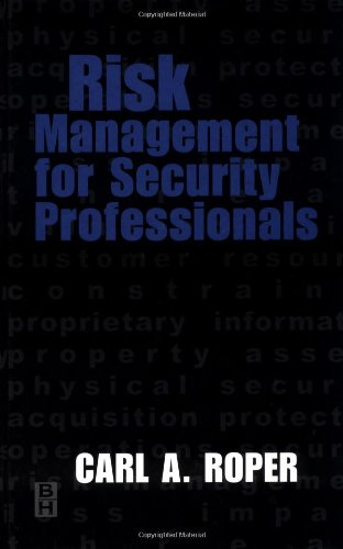 9780750671132: Risk Management for Security Professionals
