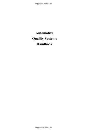 9780750672436: QS-9000 Automotive Quality Systems Handbook