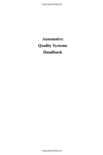 9780750672436: Automotive Quality Systems Handbook