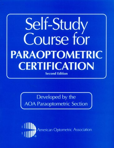 9780750672665: Self-Study Course for Paraoptometric Certification