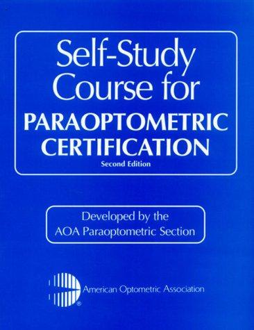 9780750672665: Self-Study Course for Paraoptometric Certification, 2e