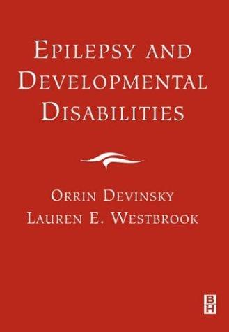 9780750672733: Epilepsy and Developmental Disabilities, 1e