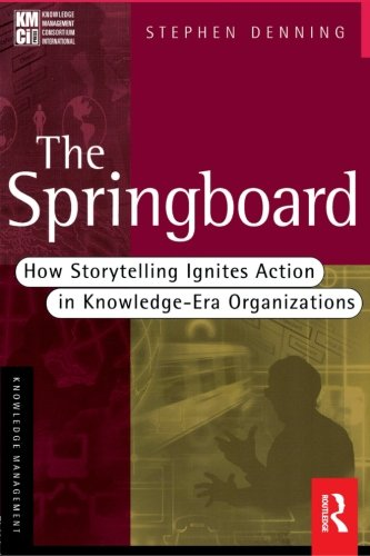 9780750673556: The Springboard: How Storytelling Ignites Action in Knowledge-Era Organizations