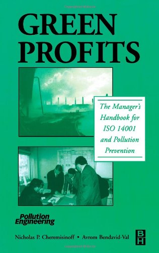 9780750674010: Green Profits: The Manager's Handbook for ISO 14001 and Pollution Prevention