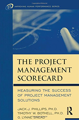 9780750674492: The Project Management Scorecard (Improving Human Performance)