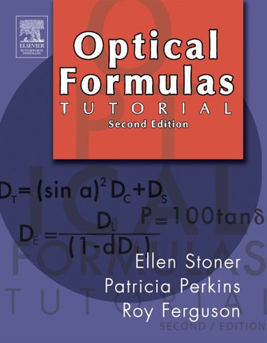9780750675048: Optical Formulas Tutorial 2nd