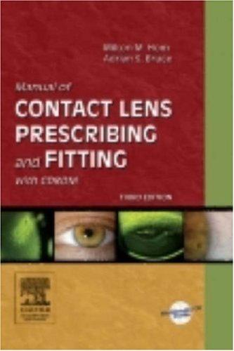 9780750675178: Manual of Contact Lens Prescribing and Fitting with CD-ROM, 3e