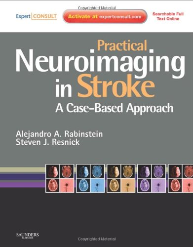 9780750675376: Practical Neuroimaging in Stroke: A Case-Based Approach, 1e