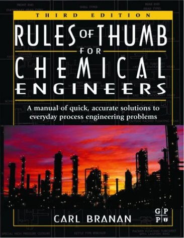 9780750675673: Rules of Thumb for Chemical Engineers