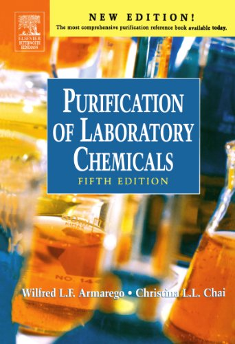 9780750675710: Purification of Laboratory Chemicals, Fifth Edition