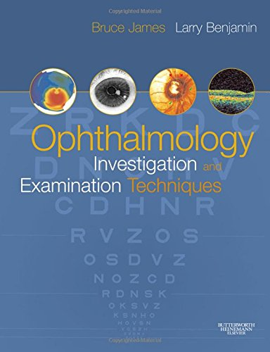 9780750675864: Ophthalmology: Investigation and Examination Techniques