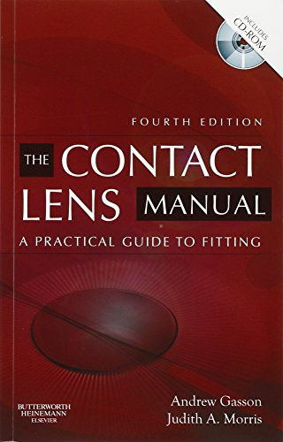 9780750675901: The Contact Lens Manual: A Practical Guide to Fitting, 4e