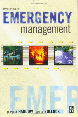 9780750676892: Introduction to Emergency Management