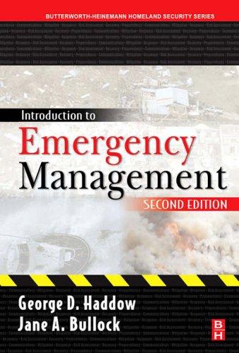 9780750679619: Introduction to Emergency Management (Butterworth-Heinemann Homeland Security)