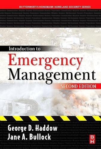 9780750679619: Introduction to Emergency Management, Second Edition (Butterworth-Heinemann Homeland Security)