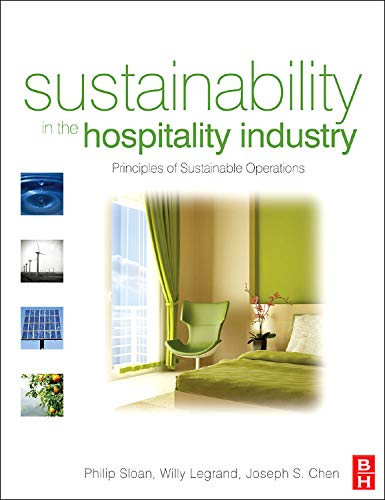 9780750679688: Sustainability in the Hospitality Industry